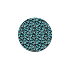 Roses Pattern Golf Ball Marker (10 Pack) by Valentinaart