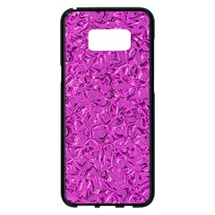 Sparkling Metal Art D Samsung Galaxy S8 Plus Black Seamless Case