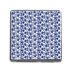 Roses Pattern Memory Card Reader (square)