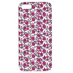 Roses Pattern Apple Iphone 5 Hardshell Case With Stand by Valentinaart