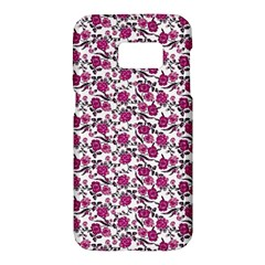 Roses Pattern Samsung Galaxy S7 Hardshell Case
