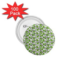 Roses Pattern 1 75  Buttons (100 Pack)