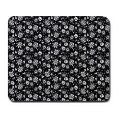 Roses Pattern Large Mousepads by Valentinaart