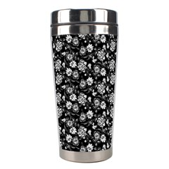 Roses Pattern Stainless Steel Travel Tumblers
