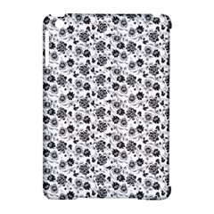 Roses Pattern Apple Ipad Mini Hardshell Case (compatible With Smart Cover) by Valentinaart