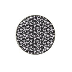 Roses Pattern Hat Clip Ball Marker