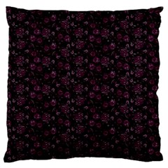 Roses Pattern Large Cushion Case (two Sides)