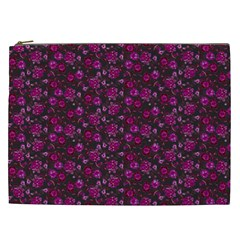 Roses Pattern Cosmetic Bag (xxl)  by Valentinaart