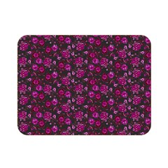 Roses Pattern Double Sided Flano Blanket (mini)