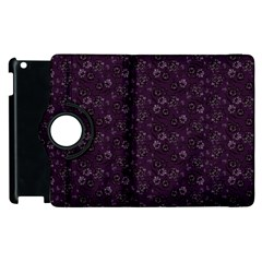 Roses Pattern Apple Ipad 3/4 Flip 360 Case by Valentinaart