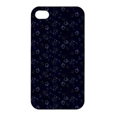 Roses Pattern Apple Iphone 4/4s Premium Hardshell Case by Valentinaart