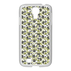 Roses Pattern Samsung Galaxy S4 I9500/ I9505 Case (white) by Valentinaart