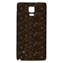 Roses Pattern Galaxy Note 4 Back Case by Valentinaart