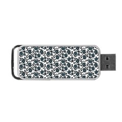 Roses Pattern Portable Usb Flash (two Sides)