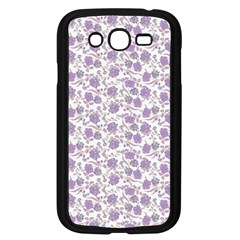 Roses Pattern Samsung Galaxy Grand Duos I9082 Case (black) by Valentinaart
