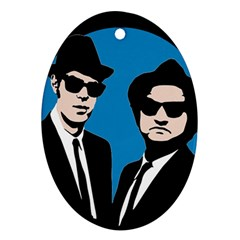 Blues Brothers  Ornament (oval)