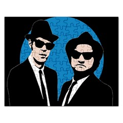 Blues Brothers  Rectangular Jigsaw Puzzl