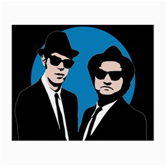 Blues Brothers  Small Glasses Cloth by Valentinaart