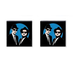 Blues Brothers  Cufflinks (square)