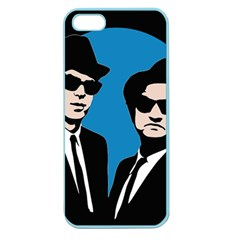 Blues Brothers  Apple Seamless Iphone 5 Case (color) by Valentinaart