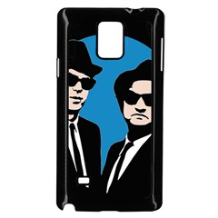 Blues Brothers  Samsung Galaxy Note 4 Case (black) by Valentinaart
