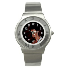 Bruce Lee Stainless Steel Watch
