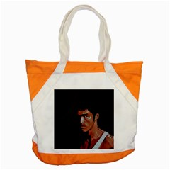 Bruce Lee Accent Tote Bag
