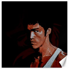 Bruce Lee Canvas 16  X 16