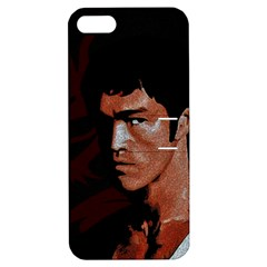 Bruce Lee Apple Iphone 5 Hardshell Case With Stand by Valentinaart