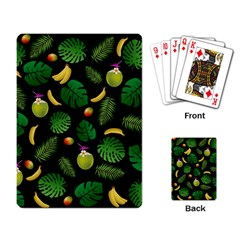 Tropical Pattern Playing Card by Valentinaart