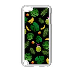 Tropical Pattern Apple Ipod Touch 5 Case (white) by Valentinaart