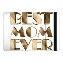 Best Mom Ever Gold Look Elegant Typography Samsung Galaxy Tab Pro 10 1  Flip Case by yoursparklingshop