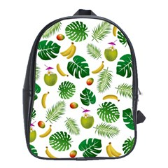 Tropical Pattern School Bags(large)