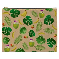 Tropical Pattern Cosmetic Bag (xxxl)