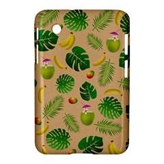Tropical Pattern Samsung Galaxy Tab 2 (7 ) P3100 Hardshell Case  by Valentinaart