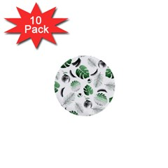 Tropical Pattern 1  Mini Buttons (10 Pack)  by Valentinaart