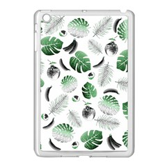 Tropical Pattern Apple Ipad Mini Case (white) by Valentinaart