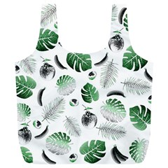 Tropical Pattern Full Print Recycle Bags (l)  by Valentinaart