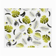 Tropical Pattern Small Glasses Cloth
