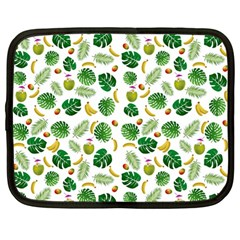 Tropical Pattern Netbook Case (large) by Valentinaart