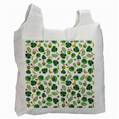 Tropical Pattern Recycle Bag (one Side)