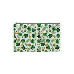 Tropical Pattern Cosmetic Bag (small)