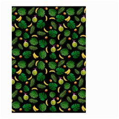 Tropical Pattern Small Garden Flag (two Sides) by Valentinaart