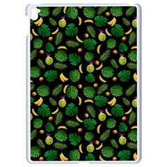 Tropical Pattern Apple Ipad Pro 9 7   White Seamless Case by Valentinaart