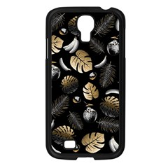 Tropical Pattern Samsung Galaxy S4 I9500/ I9505 Case (black)