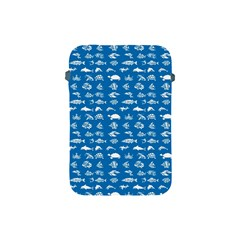 Fish Pattern Apple Ipad Mini Protective Soft Cases by ValentinaDesign