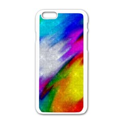 Rainbow Colors        Motorola Moto E Hardshell Case by LalyLauraFLM