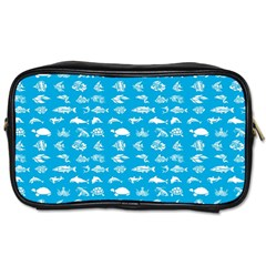 Fish Pattern Toiletries Bags by ValentinaDesign
