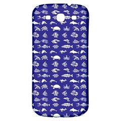 Fish Pattern Samsung Galaxy S3 S Iii Classic Hardshell Back Case by ValentinaDesign