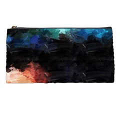 Paint Strokes And Splashes        Pencil Case by LalyLauraFLM